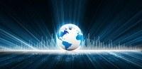 earth with digital fibers