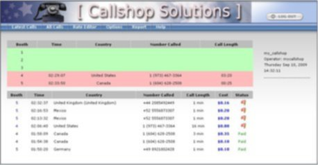 Telinta Enhances its Branded Call Shop Interface