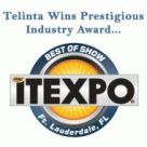 "Telinta Wins ITEXPO ""Best of Show"" Award"
