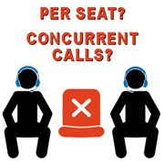 Does your VoIP softswitch provider charge per-seat? Concurrent call? Per-minute? Ask Telinta for a better option.