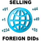 How can I offer phone numbers from other countries?