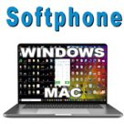 Brandable softphone for Windows and Mac, for your VoIP business.